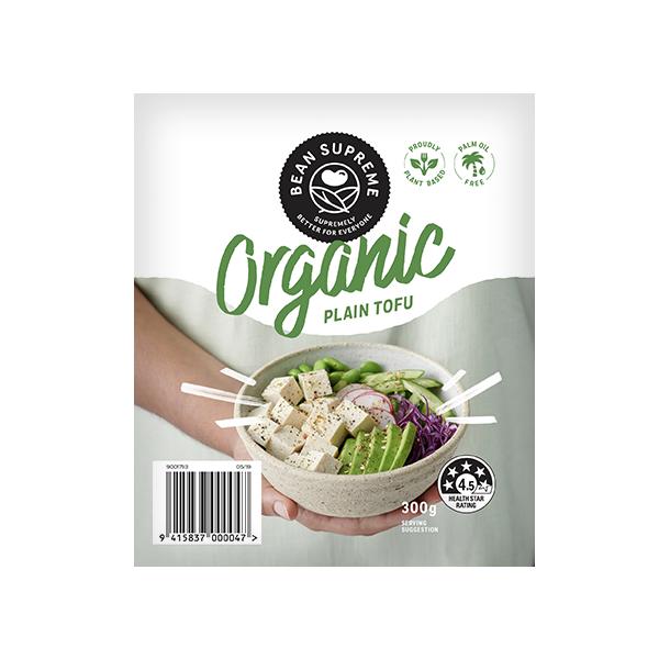 Organic Plain Tofu (NZ only)
