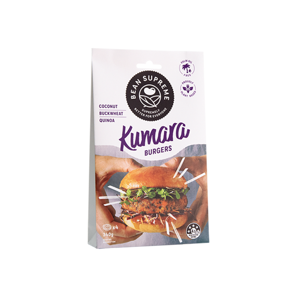 Kumara Burger (NZ only)