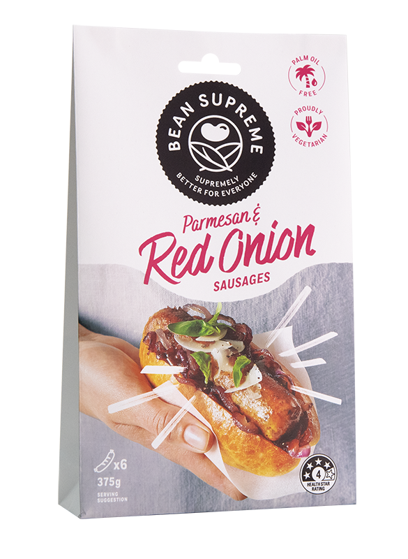 Parmesan & Red Onion Sausages Image