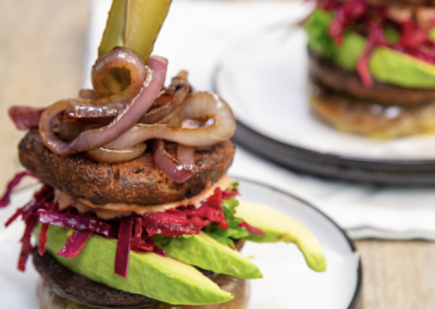 BBQ Bunless Veggie Burger