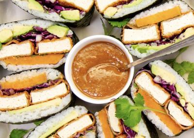 Tofu Sushi Sandwich