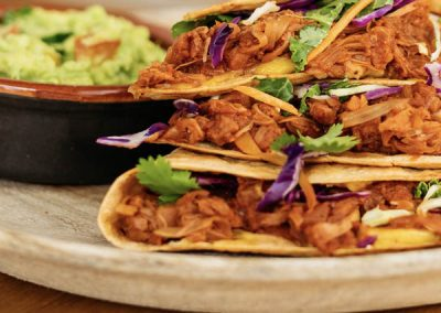 Jackfruit Quesadillas