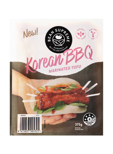 Korean BBQ Marinated Tofu Image