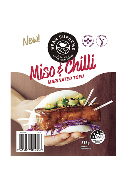 Miso & Chilli Marinated Tofu Image